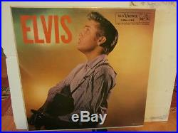 Elvis PresleyElvislp12or. Usa. 1956.1. Ère press/ verso 1 de octobre 1956. Lire