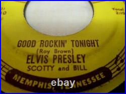 Elvis Presleysun 210good Rockin Tonight1955 Origpush Mksclean Lblsvg Vinyl