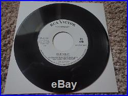 Elvis Roustabout/One Track Heart SP-45-139 Promo MINT 1964