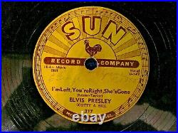 Elvis, Sun Label #217 Baby Lets Play House / I Am Left, You're Right, She's Gone