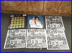 Elvis The Other Sides Touch Of Gold Vol 2withoriginal CLOTHING SWATCH & POSTER