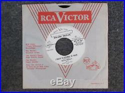Elvis presley 45 promo white labe mystery train I forgot. 47-6357
