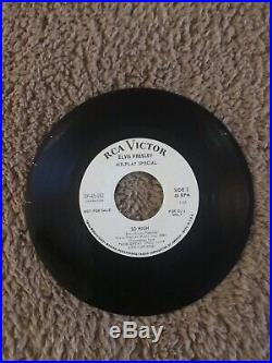 Elvis presley DJ Promo SP-45-162 How Great Thou Art