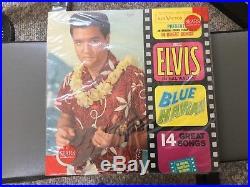 Elvis presley lp blue hawaii sealed in sears baggy