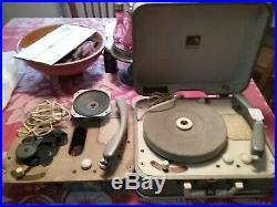 Elvis presley record player-1956 Autographed Original
