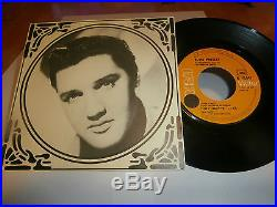 Elvis presleylifesingle7juke-box. Fr. Rca victorlbl orange=ultra rare 45468