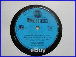FRENCH EP Elvis PRESLEY Surrender COMPACT 33 DOUBLE RCA 33.001 EX/EX+