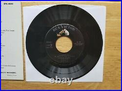 GEM MINT 10 100% PERFECT MINT 1956 PACKAGE Elvis Presley JUST FOR YOU EPA-4041
