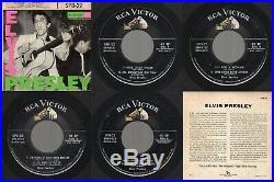 HEAR! (PROMO EX/EX Vinyl) Self Titled Elvis Presley RCA Victor SPD-22 1956