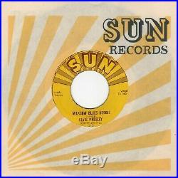 HEAR VG+ 1954 Sun 215 Elvis PresleyMilkcow Blues Boogie/You're A Heartbreaker