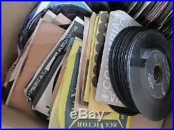 HUGE Lot 400+ 45s Records Elvis Presley Bill Haley EP Picture Sleeve Rock & Roll