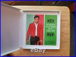INSIDE NEAR PERFECT 1967 Elvis Presley Special Christmas Program Reel-to-Reel