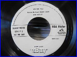 LOVING YOU SDS 7-2 RARE USA PROMO ELVIS PRESLEY 8 TRACK 45 EP DEALERS PREVUE