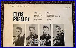 LP ELVIS PRESLEY 1956 DEBUT RCA VIctor MONO LPM-1254 withOriginal Sleeve MEMORYLEN