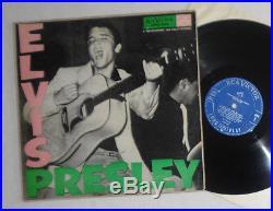 LP Elvis Presley LPM 1254 Canada 1956 blue Label RARE 1st issue P. D. Credit