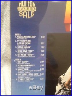 LP Moody Blue Elvis Presley RCA #AFL1-2428