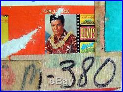 LPM-2621-RADIO STATION COPY-Elvis Presley GIRLS GIRLS GIRLS 1ST Pressing MONO