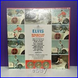 LPM-3702 Elvis Spinout OST in Shrink With Photo Hype Sticker Mono RCA Victor NRMT