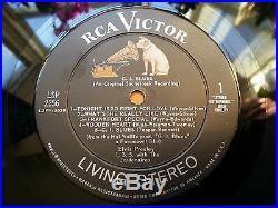 LSP 2256 Elvis Presley GI Blues LP Original Living Stereo NM