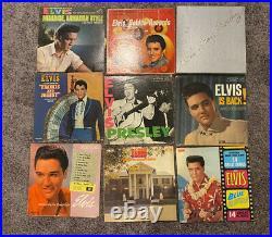 Large lot of 72 Elvis Records Vinyl Elvis Presley