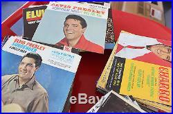Lot of 100 Elvis Presley Vinyl 45's Records. Lot of 100 ELVIS