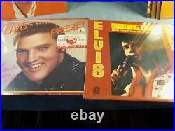 Lot of 19 Elvis Presley LP Albums 15 Sealed 6 Imports