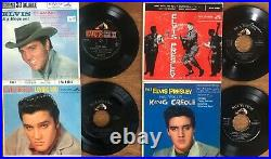 Lot of 29x ELVIS PRESLEY 45rpm EPs & Picture Sleeves with 45sPictured/GradedWOW