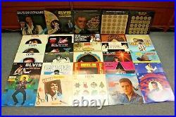 Lot of 30 Elvis Presley Vinyl Records Free Shipping