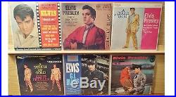 Lot of (57+) Elvis Presley 45's & EP's all listed & graded