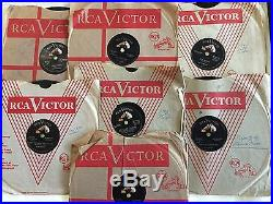 Lot of 7 Elvis Presley Records 10 Inch 78 RPM