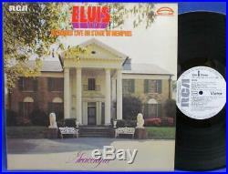 Lp Elvis Presley -recorded Live On Stage In Memphis P-r-o-m-o Rca Cpl1-0606