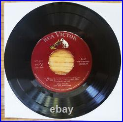 MAROON GSS Elvis Presley PEACE IN THE VALLEY EPA-5121 NEAR MINT VINYL