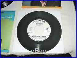 MINT 1s/1s promo's Elvis Presley Joshua Fit The Battle & Milky White Way