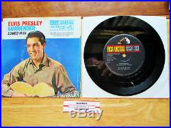 MINT! Compact 33 Single Elvis Presley Surrender 37-7850 withPS