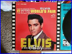 MINT Elvis Presley IT HAPPENED AT THE WORLD'S FAIR LSP-2897 with BONUS PHOTO