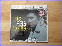 MINT IN SHRINK COVER ONLY Elvis Presley Heartbreak Hotel EPA-821