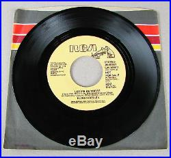 MINT MEGA RARE PROMO Elvis Presley Let Me Be There REMOVED & DELETED BY RCA