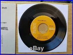 MINT/MINT IN TIGHT SHRINK ORANGE LABEL Elvis Presley HEARTBREAK HOTEL EPA-821