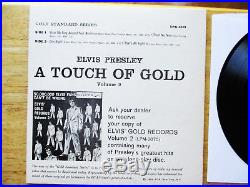 MINT ORANGE LABEL Elvis Presley A Touch Of Gold Volume 2 EPA-5101