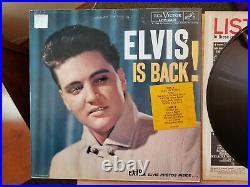 MINT ORIGINAL Elvis Presley ELVIS IS BACK LPM-2231 with EXCELLENT Cover 1960