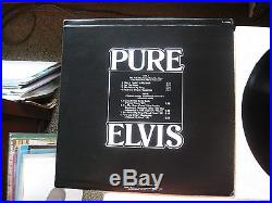 MINT PROMO Elvis Presley PURE ELVIS DJL1-3455 $600.00 BV