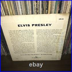 MISPRINT SPD-23 Elvis Presley 45 Vinyl 1956 Gene Vincent Rockabilly Rock N Roll