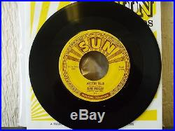 MYSTERY TRAIN SUN 223 ELVIS PRESLEY GENUINE ORIGINAL USA SUN 45 BEAUTY