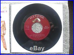 Maroon 1s / 1s EPA-5141 Elvis Presley A TOUCH OF GOLD Volume 3 in BAGGY
