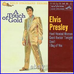 (Maroon GSS) Elvis Presley A Touch of Gold, Volume 1 RCA Victor EPA-5088 1959