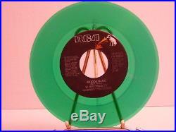 Mega Find! Elvis PresleyMoody Blue Colored set of 5 45 rpm Records NM/VG+
