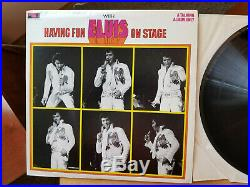 NEAR MINT BOXCAR Elvis Presley HAVING FUN WITH ELVIS ON STAGE