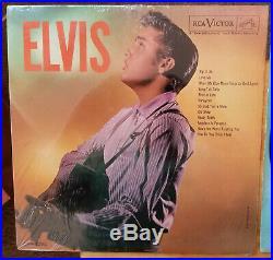 NEAR MINT Elvis Presley ELVIS LPM-1382 FIRST GEN DISC2nd GEN Cover 1963