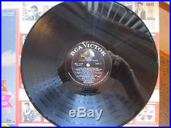 NEAR MINT Elvis Presley Girl Happy LPM-3338 in Shrink with FLAT print