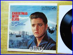 NEAR MINT ORANGE LABEL Elvis Presley Christmas With Elvis EPA-4340